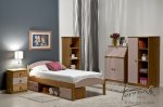 meble drewniane w pomieszczeniu
